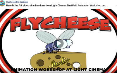 Students running workshops at The Light Sheffield